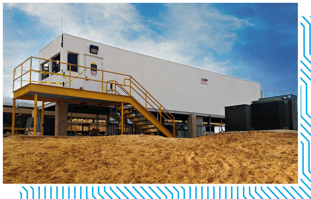 ICS Custom Designed EHouse for mining and oil industries.